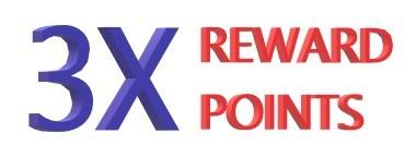 3 X POINTS